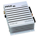 Pyle PLMRA120 2 Channel 240W WaterProof Marine Boat 12v Speaker Amplifier Amp