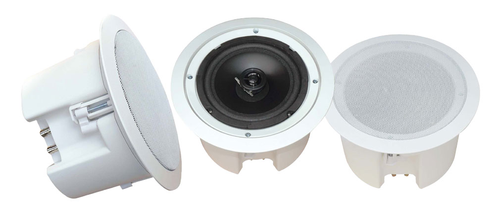 Pyle-Home PDPC82 8'' In-Ceiling 2-Way Flush Mount Enclosure Speaker System