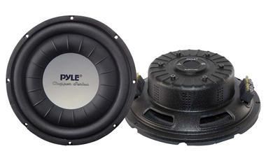 Pyle PLWCH10D 10 inch 1000W Ultra Slim DVC Car Van Truck Subwoofer Sub Thumbnail 2