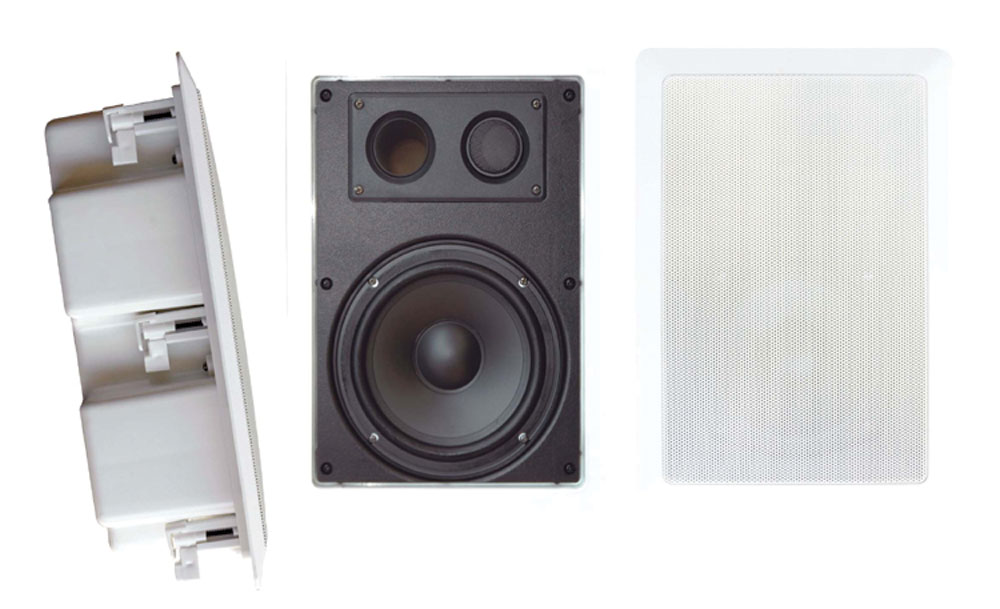 """Pyle-Home PDIW57 Pyle 5.25"""" Back Enclosed 5.25"""" Speakers"""