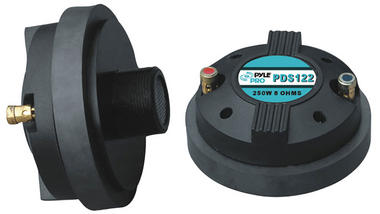 Pyle-Pro PDS122 250 Watt 1.5-inch Titanium Compression Horn Driver (Screw-on Type) Thumbnail 2