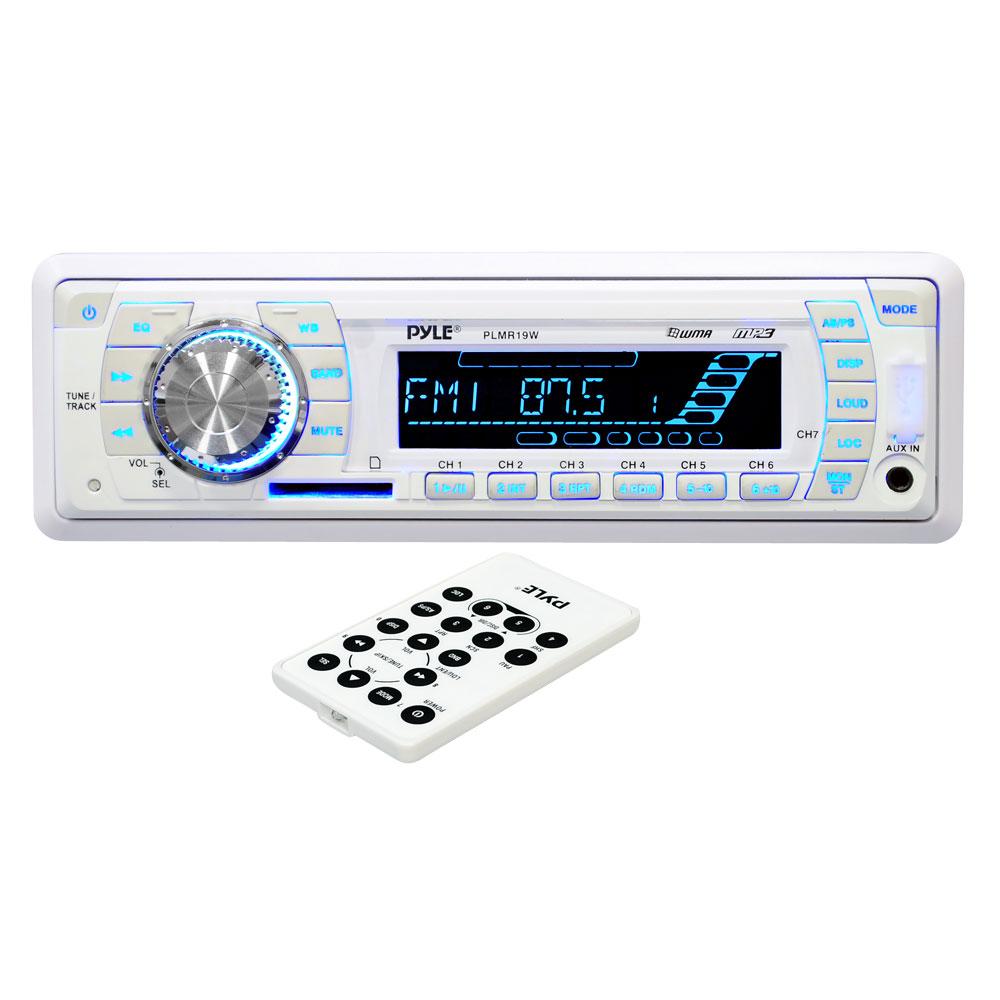 Pyle PLMR19W AM/FM-MPX PLL Tuning Radio w/SD/MMC/USB & Weather Band
