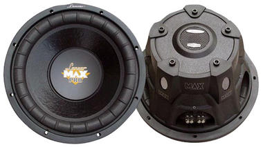 "Lanzar MAXP64 Max Pro 6.5"" 600w Small Enclosure 4 Ohm Subwoofer (Single) Thumbnail 2"