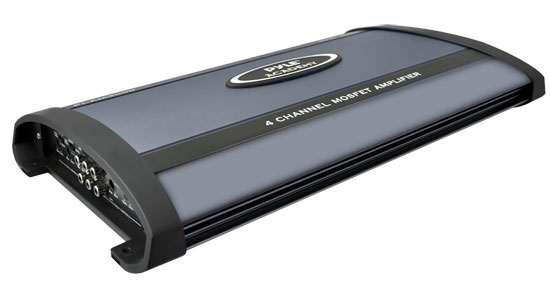 Pyle PLAM3000 3000W 4 Channel Bridgeable Amplifier
