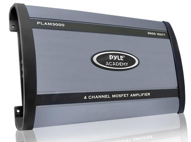 Pyle PLAM3000 3000 Watts 4 Channel Bridgeable Amplifier Thumbnail 1