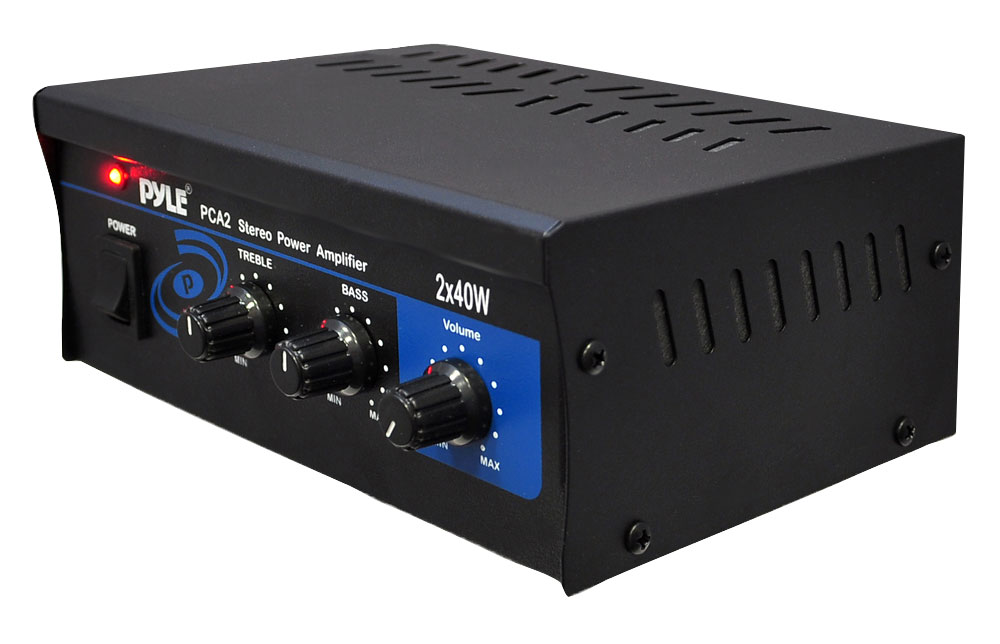 Pyle-Home PCA2 Pyle Mini Computer Stereo Power Amp 80w