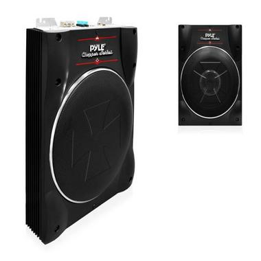 Pyle PLBASS8 8-Inch Low-Profile Super Slim Active Amplified Subwoofer System Thumbnail 4