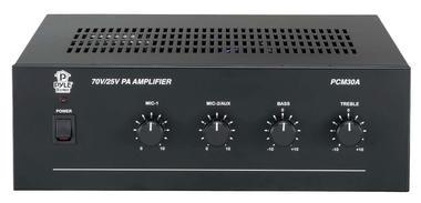 Pyle-Home PCM30A 60 Watt Power Amplifier w/ 25 & 70 Volt Output Thumbnail 2