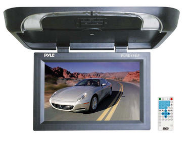 Pyle PLRD175IF 17 inch Flip Down Monitor with Built in DVD/ SD/ USB Player Thumbnail 2
