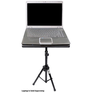 Pyle PLPTS3 Pro DJ Laptop Tripod Adjustable Stand For Notebook Computer Thumbnail 2