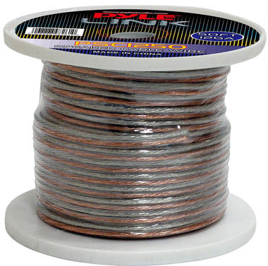 Pyle PSC1250 12 Awg Gauge 50 ft Spool Roll of High Quality Stereo Speaker Wire Thumbnail 2