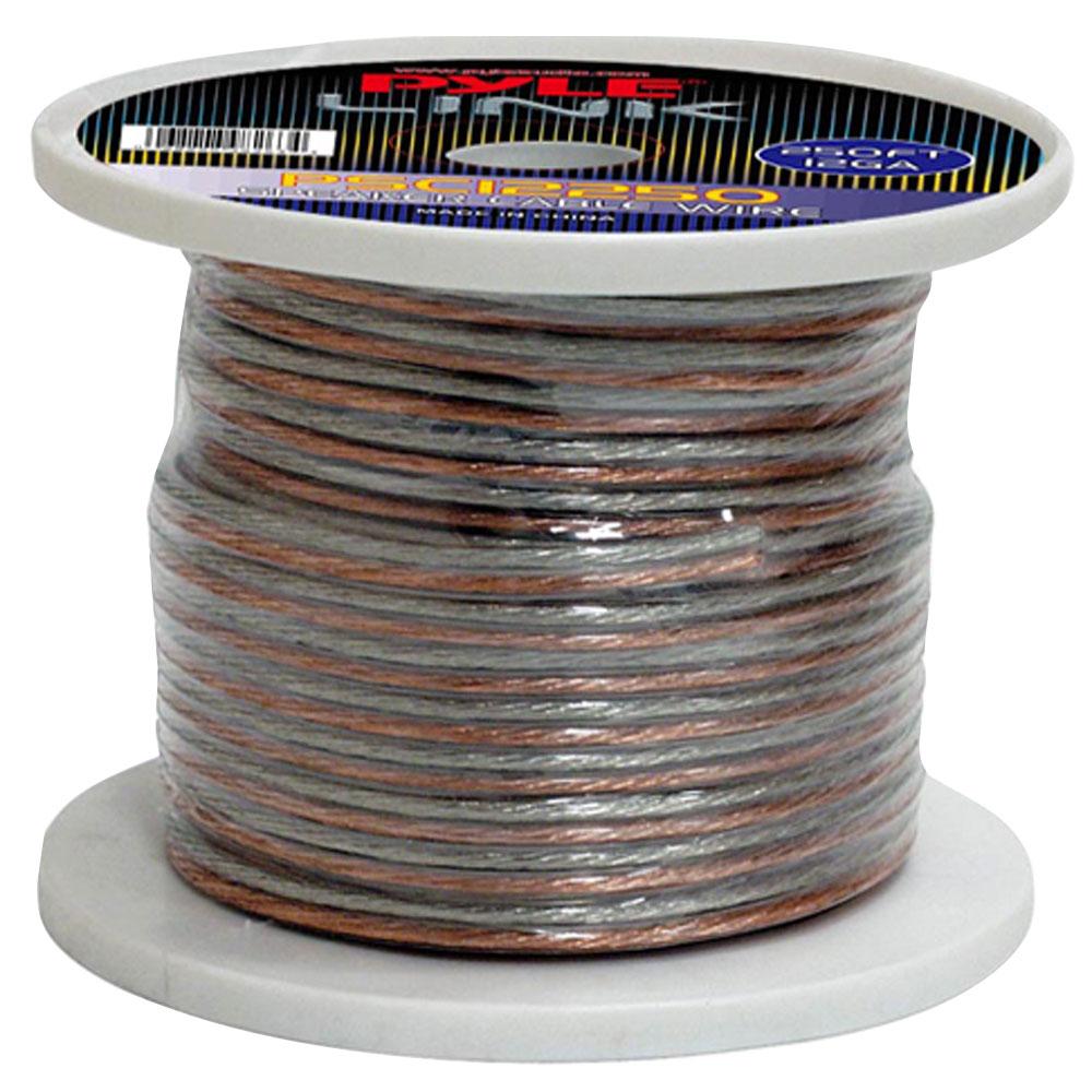 Pyle PSC12250 12 Gauge 250 ft. Spool of High Quality Speaker Zip Wire