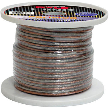 Pyle PSC18100 18 Gauge 100 ft. Spool of High Quality Speaker Zip Wire Thumbnail 2