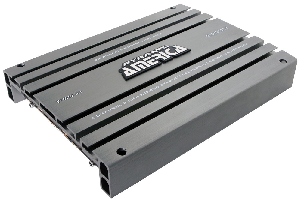 Pyramid PB618 2000 Watt 4 Channel Bridgeable Mosfet Amplifier