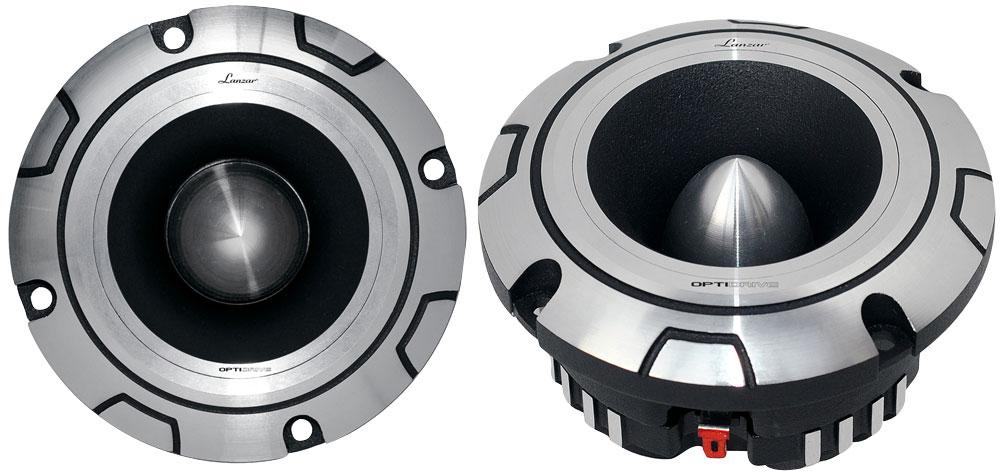 "Lanzar OPTI 4"" Heavy Duty Titanium 4 Ohm Car Home Pro Audio 400w Super Tweeter"