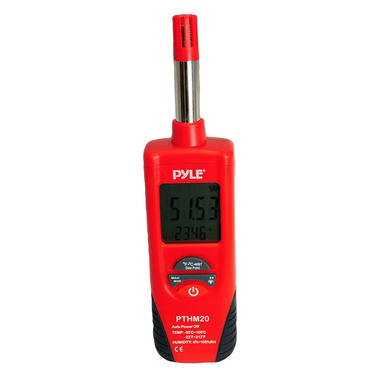 PTHM20 Temperature & Humidity Meter with Dew Point and Wet Bulb Handheld Thumbnail 2