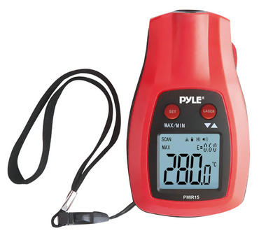 Pyle-Meters PMIR15 Mini Infrared Thermometer with Laser Pointer Gun Handheld Thumbnail 2