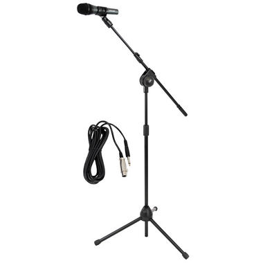 PYLE-PRO PMKSM20 Microphone and Tripod Stand With Extending Boom and Mic Cable Package Thumbnail 2