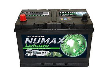 Numax LV26MF Heavy Duty Maintenance Free Leisure Marine Battery 100 Ah 800 CCA Thumbnail 1