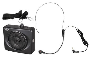 Pyle Rechargeable Portable Wireless Mobile PA System Speaker Headset Microphone Thumbnail 2