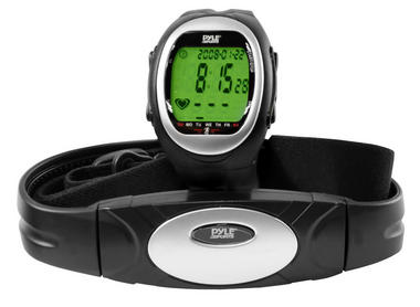 Pyle PHRM56 Heart Rate Watch Monitor 3D Walking Running Training Cardio Sensor Thumbnail 2