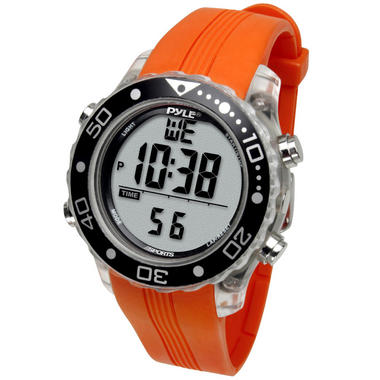 Pyle PSNKW30O Snorkeling Master W/Time-Date Dive Duration-Depth Temp Records Thumbnail 2