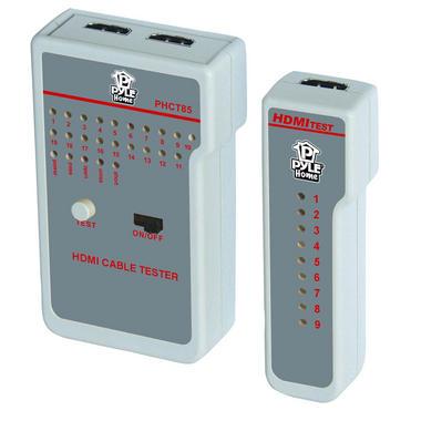 Pyle PHCT85 HDMI HD Cable Tester Indicates Continuity Status W/ 9 LED Indicators Thumbnail 2