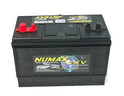 Numax XV31MF Heavy Duty Leisure Caravan Marine Boat Battery 12v 110 Ah