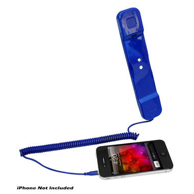 Pyle Home PITP8BL Retro Style Wired Handset for iPhone iPad Android Thumbnail 2