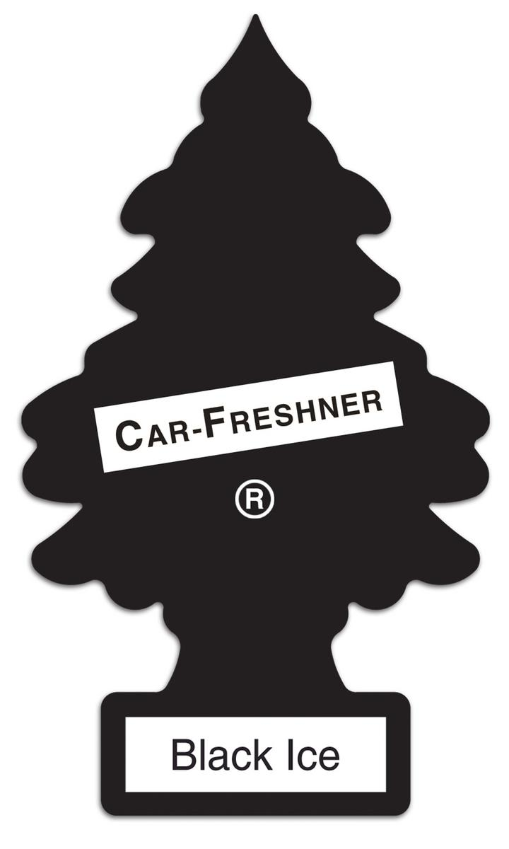 Little Tree Hanging Long Lasting Car Office Home Black Ice Air Freshener