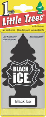 Little Tree MTO0004 Air Freshener - Black Ice Thumbnail 2