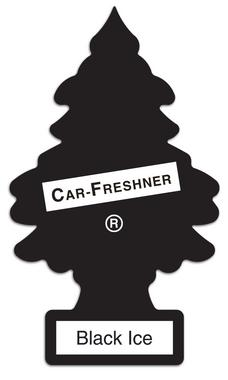 Little Tree MTO0004 Air Freshener - Black Ice Thumbnail 1
