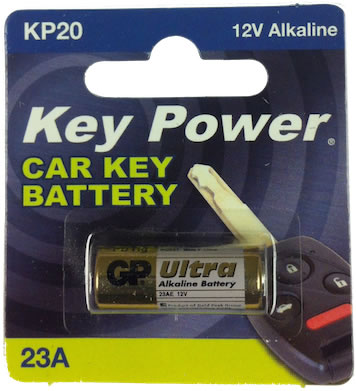 Key Power 23A Car Alarm Fob Battery Replacement Long Life Single