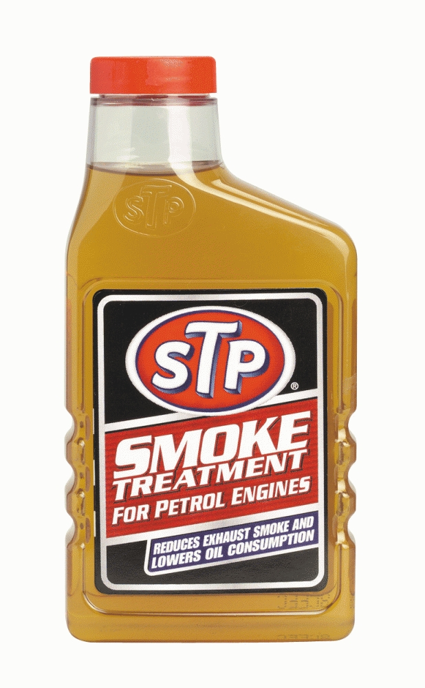 STP Smoke Treatment 450ml Petrol Engine Oil Additive Exhaust Stop Smoke