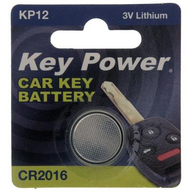 Key Power CR2016 Car Alarm Fob Battery Replacement Long Life Single Thumbnail 2