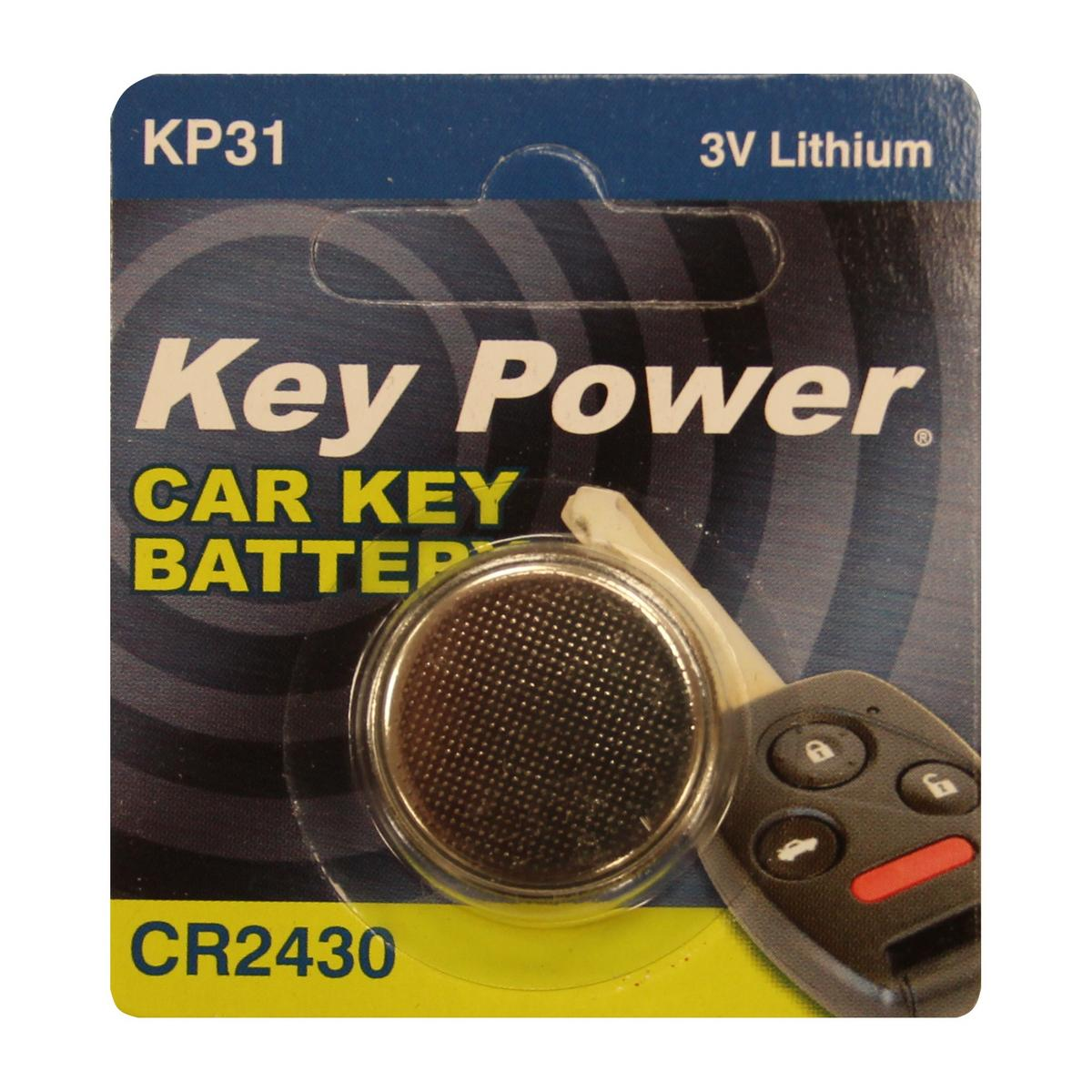 Key Power CR2032 Car Alarm Fob Battery Replacement Long Life Single
