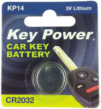 Key Power CR2032 Car Alarm Fob Battery Replacement Long Life Single Thumbnail 2