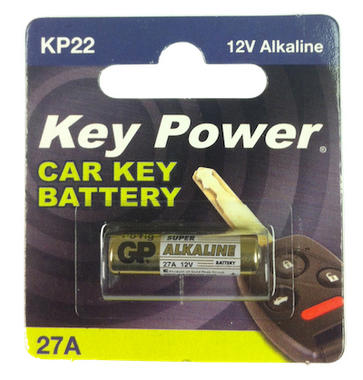 Key Power 27A Car Alarm Fob Battery Replacement Long Life Single Thumbnail 2