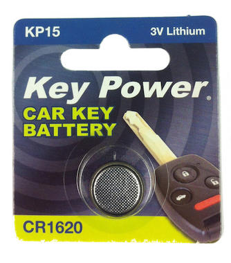 Key Power CR1620 Car Alarm Fob Battery Replacement Long Life Single Thumbnail 2