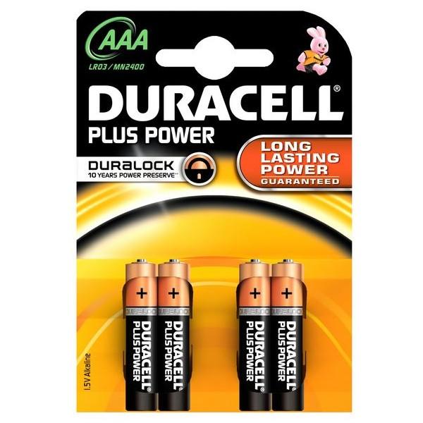 Duracell DURMN2400B4 Type AAA Batteries