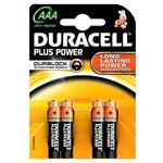 Duracell Plus AAA Triple A 750mAh Rechargeable Battery Batteries MN2400B4