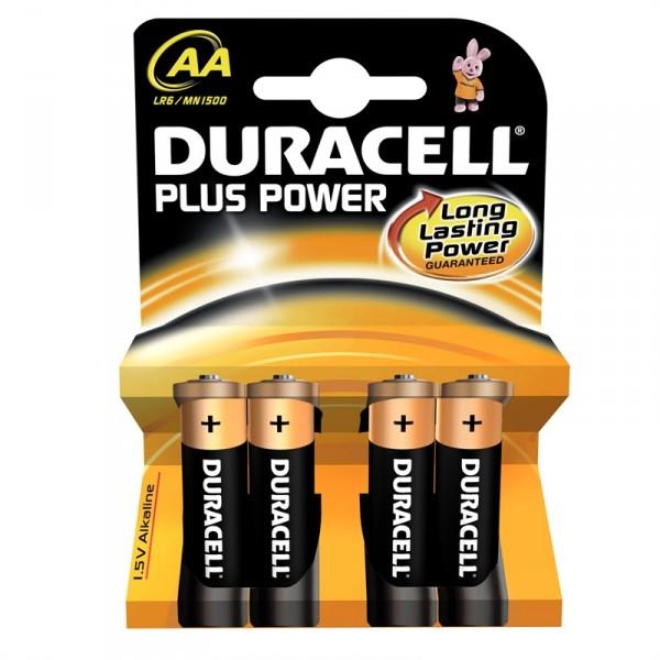 Duracell DURMN1500B4 Type AA Batteries