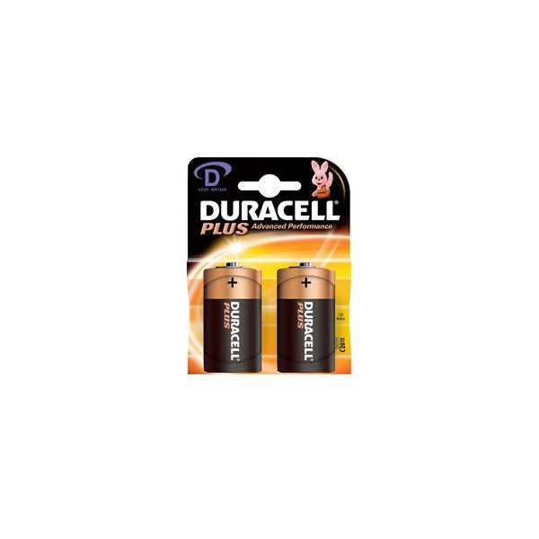 Duracell 1.5V Type D Cell MN1300 LR20 Alkaline Batteries