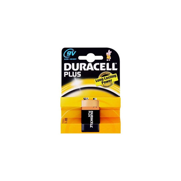 Duracell 9V PP3 Ultra Power Alkaline Batteries (LR22, MN1604, 6LR61, MX1604)