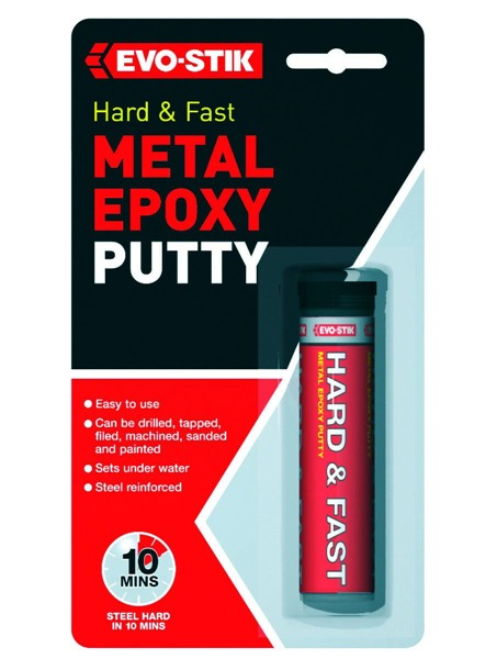 Evo-Stick 30812349 Metal Epoxy Hard Metal Putty 50G