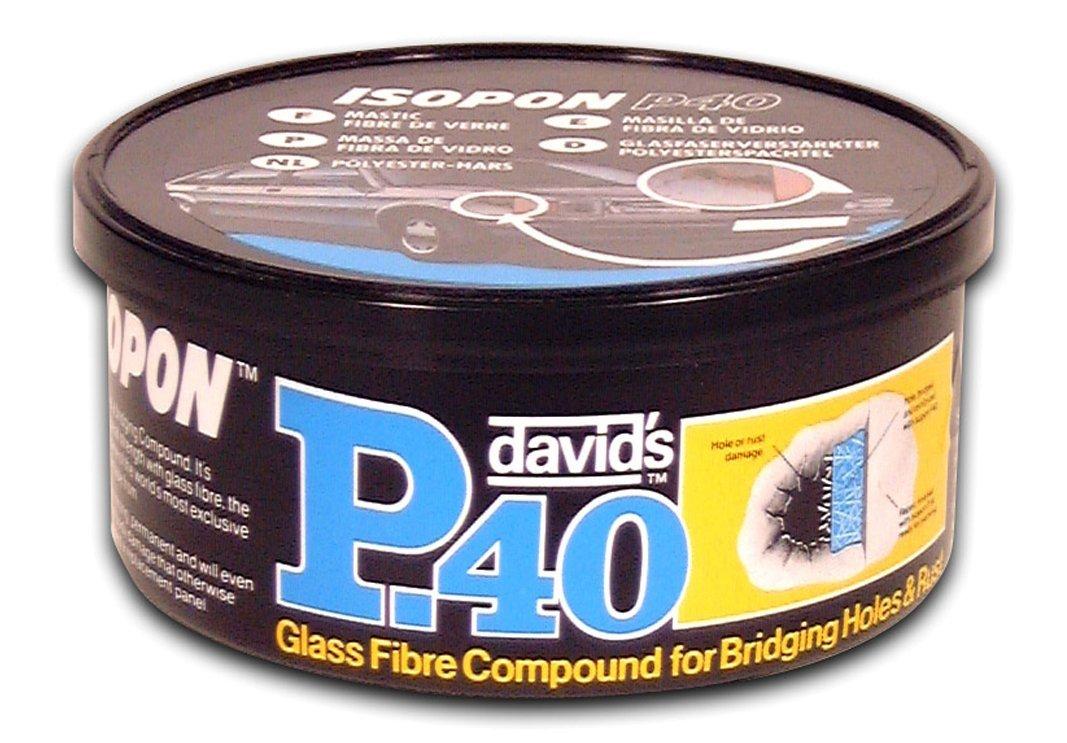 Upop40/S P40/S Isopon P40 Glass Fibre Compound For Bridging Holes Rust