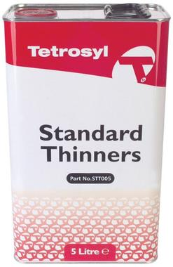 Standard Cellulose Thinners Paint  Brush Gun Cleaner Thinner 5 Litre Thumbnail 1