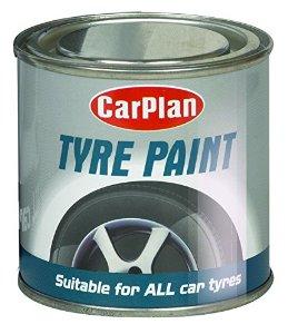 Carplan Brush-On Gloss Black Paint For Body Bumper Moldings & Trim 250ml BAF250