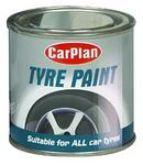 Carplan Brush-On Gloss Black Paint For Body Bumper Moldings & Trim 250ml BAF250
