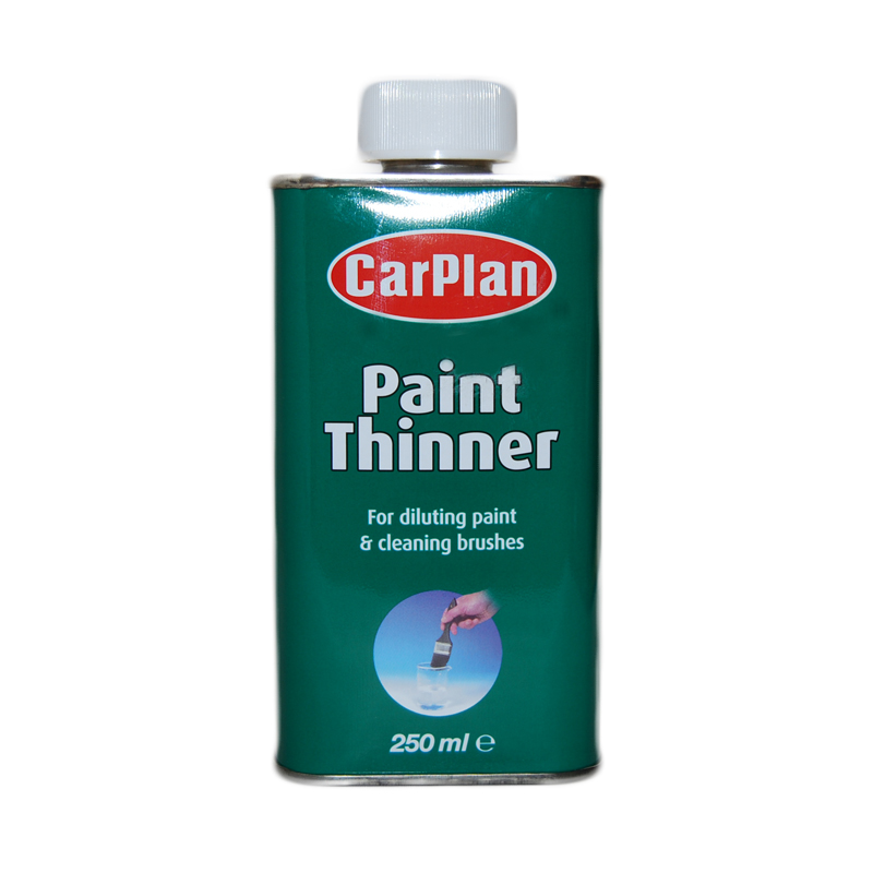 Car Plan Paint Stripper Thinners Cleaning Decorating Diluting Brushes 250ml